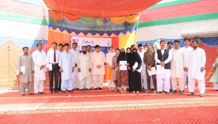 Group Photo of All Staff & Managment of BSFW Project at the Closing Ceremony of BSFW Project
