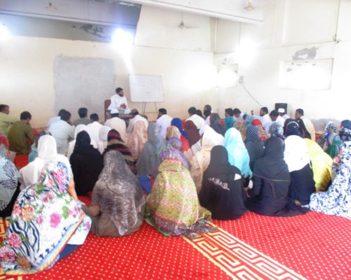 Motivational Lec during Ramzan at Sher Ghar