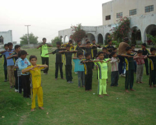 Children enjoying exercise to become fit